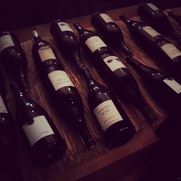 Pierre Sang - Magnums de vin, cave